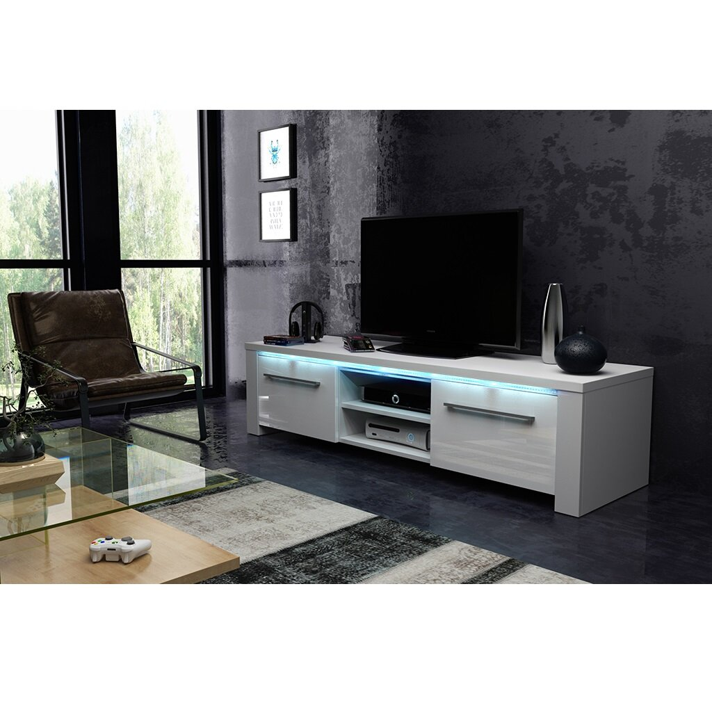 Metro Lane Bath Tv Stand For Tvs Up To 60 With Led Lighting