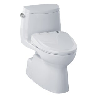 Carlyle 1 28 Gpf Elongated One Piece Toilet Seat Included By Toto