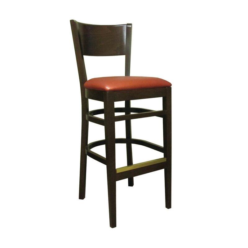 Holsag Denver 24 Bar Stool With Cushion Wayfair