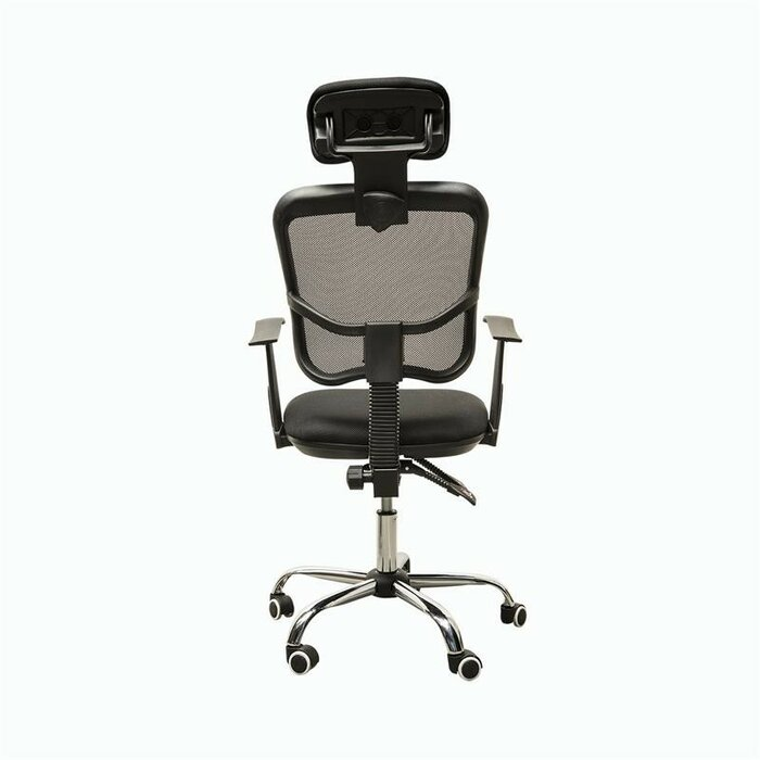 chair black af the office off on high back studio mesh