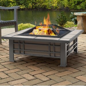 Wood Burning Patio Fire Pits outdoor fireplaces | birch lane