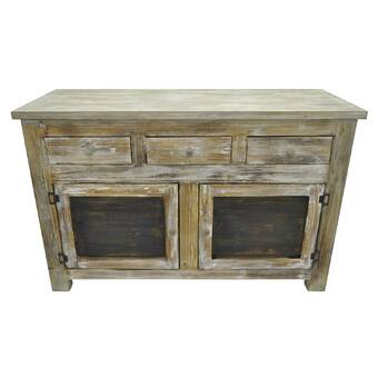 Penzance Wood 3 Drawer Accent Cabinet