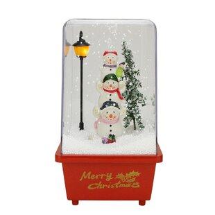 Snowmen Friends Christmas Musical Snow Globe