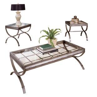 Beau Hargrave 3 Piece Coffee Table Set