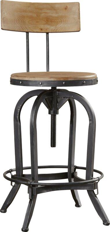 Oria Adjustable Height Swivel Bar Stool Amp Reviews Joss