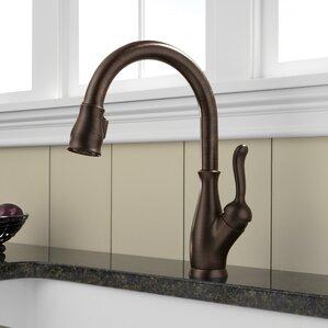 Kitchen Sink Faucets Bronze bronze kitchen faucets you'll love | wayfair