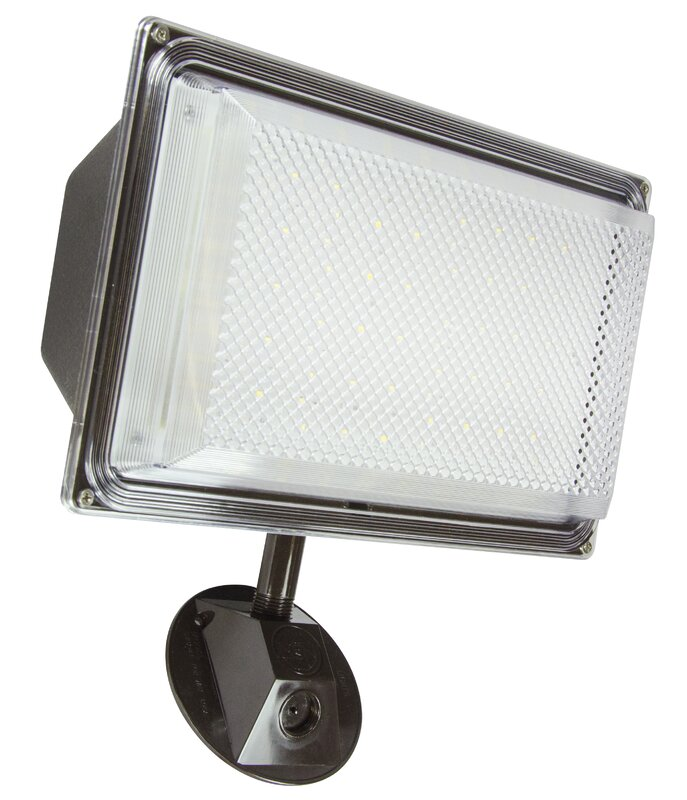 Lights of america 1 head led outdoor floodlight reviews wayfair 1 head led outdoor floodlight workwithnaturefo