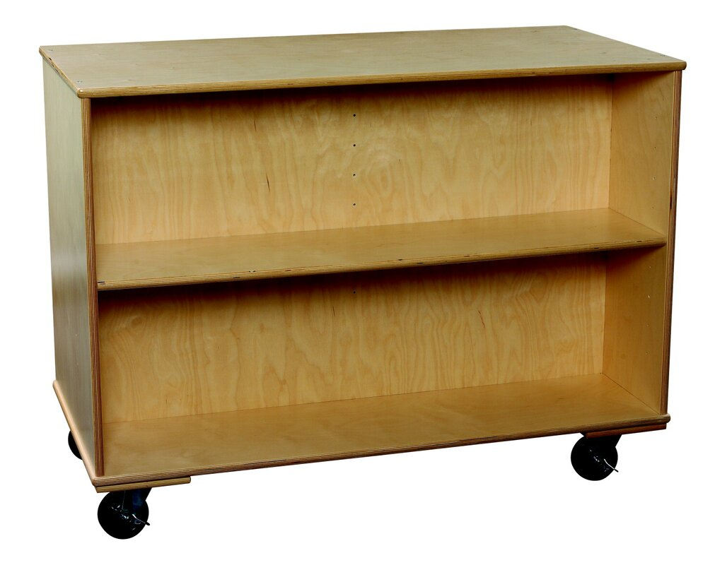 Bird In Hand Classroom Select 48 Adjustable Shelf Mobile Double