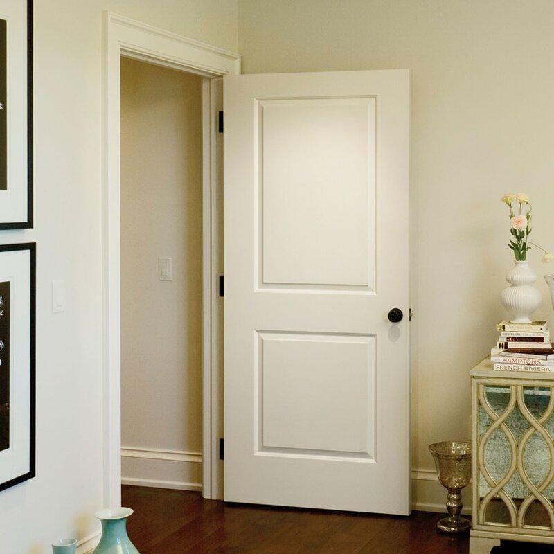 Carrara Smooth Surface Solid Panelled Prehung Interior Door & Verona Home Design Carrara Smooth Surface Solid Panelled Prehung ...