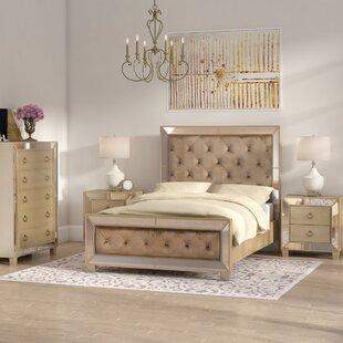Mirrored Bedroom Furniture Wayfair Ca