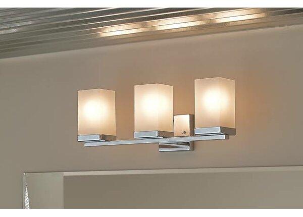Moen 90 Degree 3-Light Vanity Light & Reviews | Wayfair