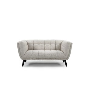 Odessey Chesterfield Loveseat by Noble House