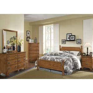 Creek Side Panel Configurable Bedroom Set by Carolina Furniture Works, Inc.