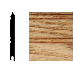 5/16 In. X 3 1/8 In. X 8 Ft. Oak Tu0026G Wainscot Panels (6 Pieces)