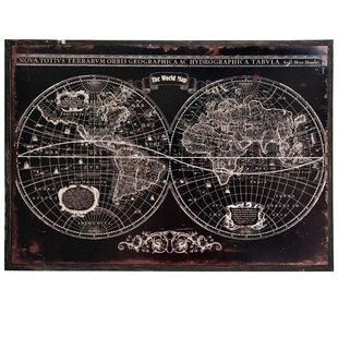 World Map Wall Sticker | Wayfair