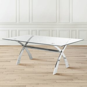 Joycelyn Dining Table by Orren Ellis