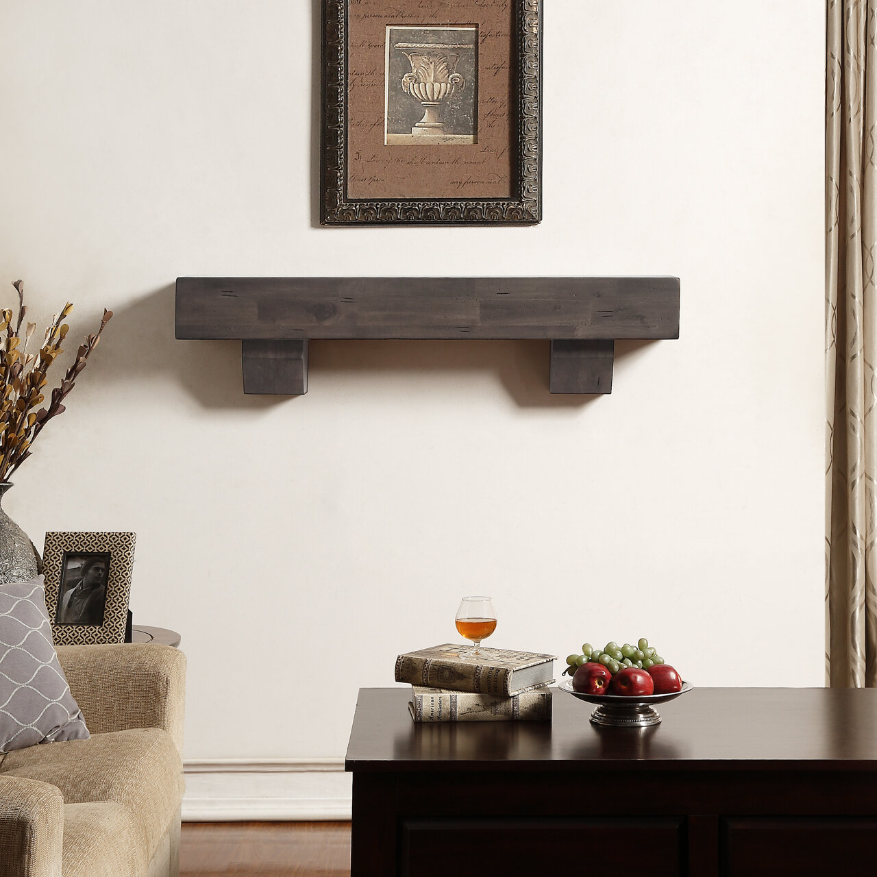 you ve and been diy knotty about alder fireplace create mantel room in for shelf mantle pin point that focal dreaming