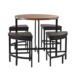 Trever Kitchen 5 Piece Dining Set by Red ..