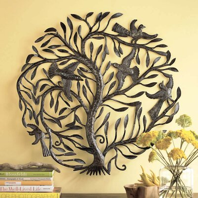 BayAccents Tree of Life Metal Wall Décor & Reviews | Wayfair