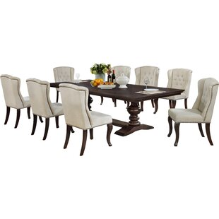 Rolf 9 Piece Extendable Dining Set