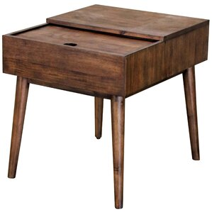 Salvador Rectangular End Table by Corrigan S..