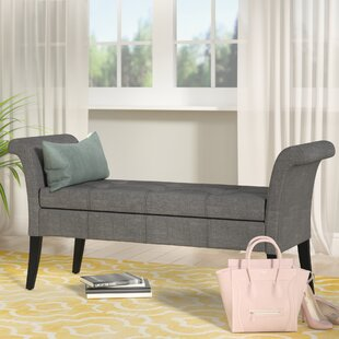 Merveilleux Kamila Upholstered Storage Bench