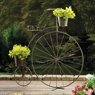 Bicycle Outdoor Planter Stands You Ll Love Wayfair