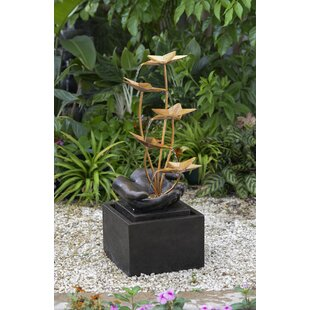 Lotus Flower Fountain Wayfair