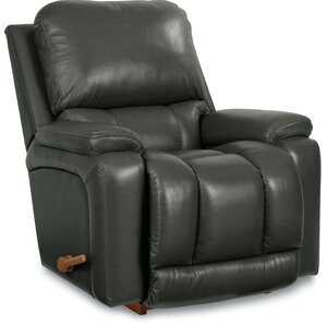 Greyson Leather Manual Rocker Recliner  sc 1 st  Wayfair & Leather Recliners Youu0027ll Love | Wayfair islam-shia.org