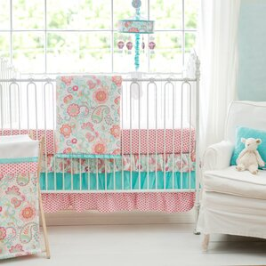 gypsy baby 3 piece crib bedding set
