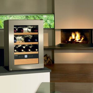 12 Bottle Single Zone Freestanding Wine Cooler by Liebherr