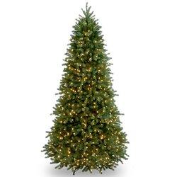 National Tree Co. Jersey Fraser Fir 7.5' Green Artificial ...