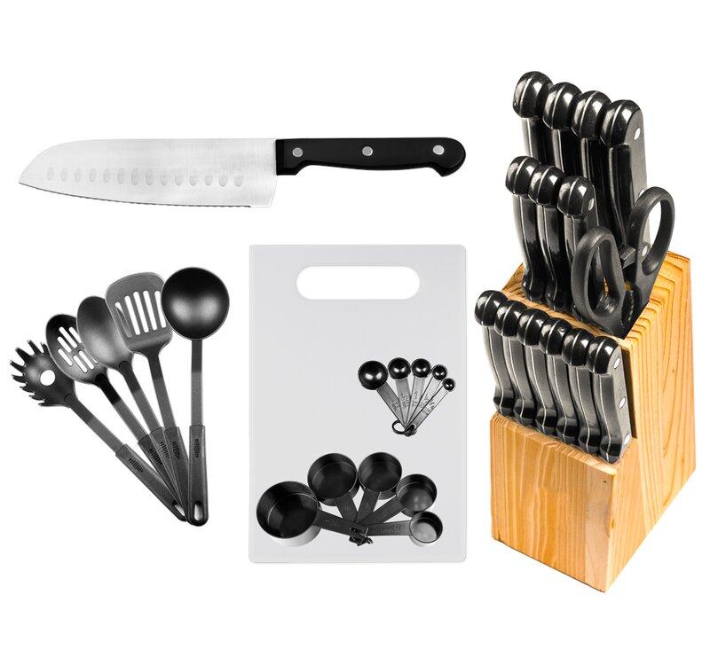 Imperial Home 29 Piece Knife Block Set Reviews Wayfair