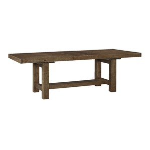 etolin extendable dining table - Rustic Dining Set