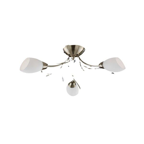 searchlight deckenleuchte 3 flammig gardenia bewertungen. Black Bedroom Furniture Sets. Home Design Ideas