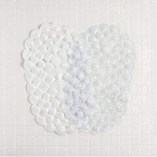 Shells Rubber Shower Mat Set Of 2