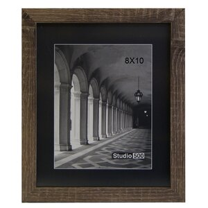 Rustic The Great Frontier Picture Frame