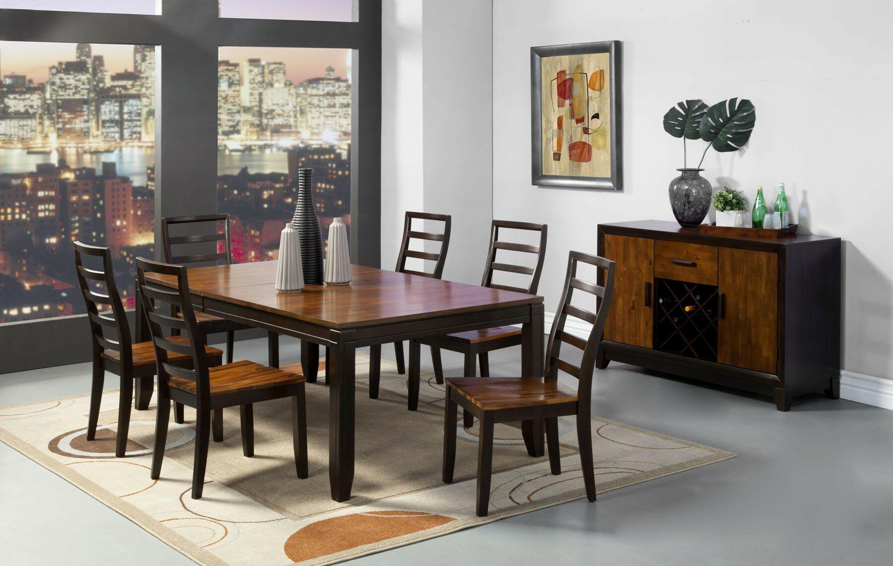 Loon Peak Trevino Drop Leaf Dining Table Wayfair