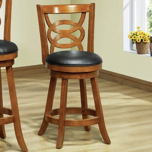 Oak Swivel Barstools Youll Love Wayfair