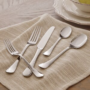 Corbin 20-Piece Hammered Flatware Set