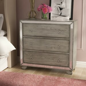 Huette 3 Drawer Chest by Willa Arlo Interiors