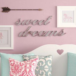 Elegant Sweet Dreams Wall Decor