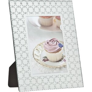 Linked Ring Glitter Picture Frame