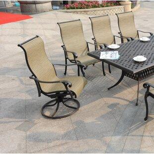 Swivel Patio Dining Chairs Youll Love Wayfair