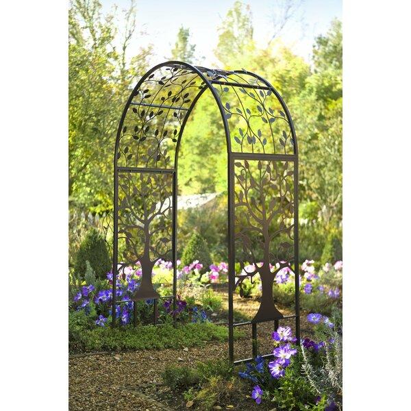 Plow Amp Hearth Garden Steel Arbor Amp Reviews Wayfair