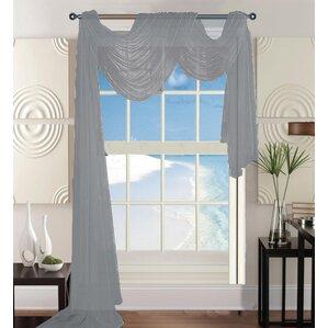 Agawam Solid Sheer Window Scarf