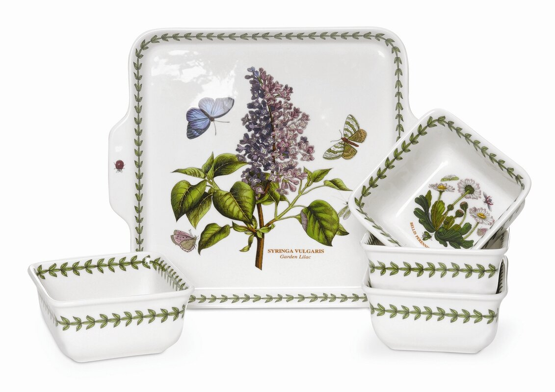 Botanic Garden 5 Piece Bowl Set