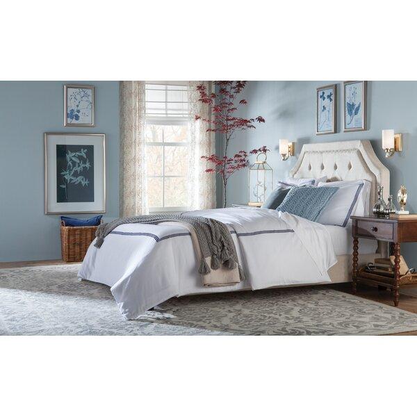Upholstered Bedroom Sets Bedroom Window Bench Bedroom Hanging Cabinet Main Bedroom Colours Ideas: Haysville Upholstered Platform Bed & Reviews