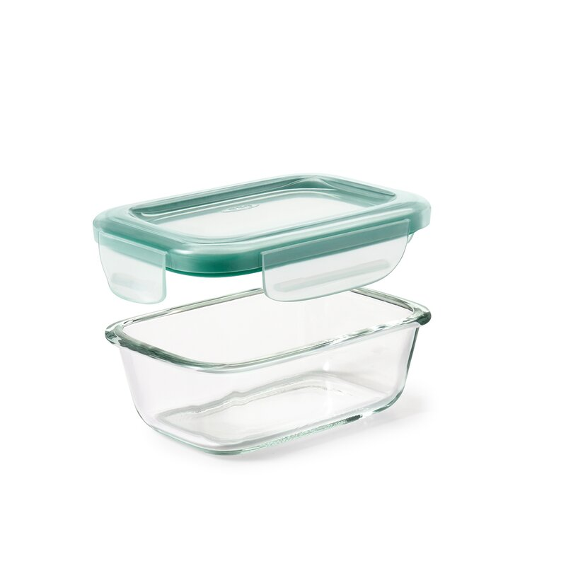 Good Grips Snap Glass Rectangle 4 Oz. Food Storage Container