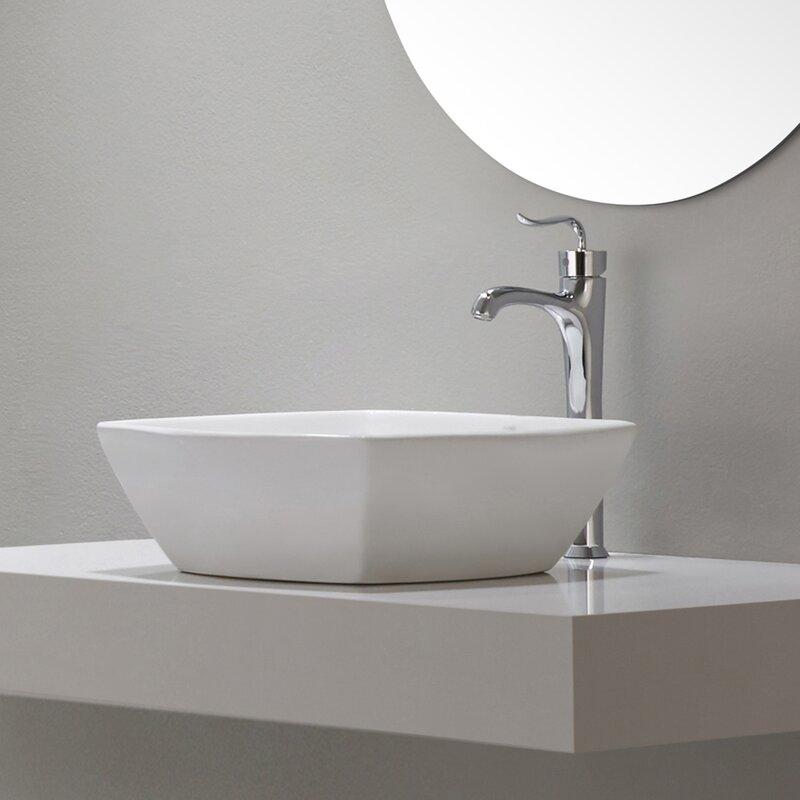 Coda™ Single Hole Bathroom Faucet with Pop-Up Drain & Reviews ...